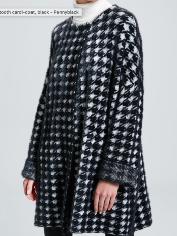 Manteau sipario jersey – Penny Black