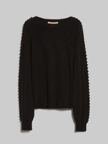 Pull col rond à perle Orice – Penny Black