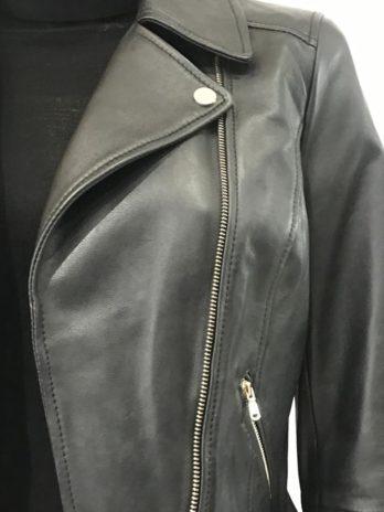 Perfecto noir cuir Gorilla – Penny Black