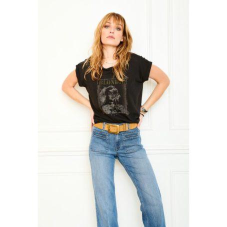 T shirt Thiara Blondie Noir - MKT Studio