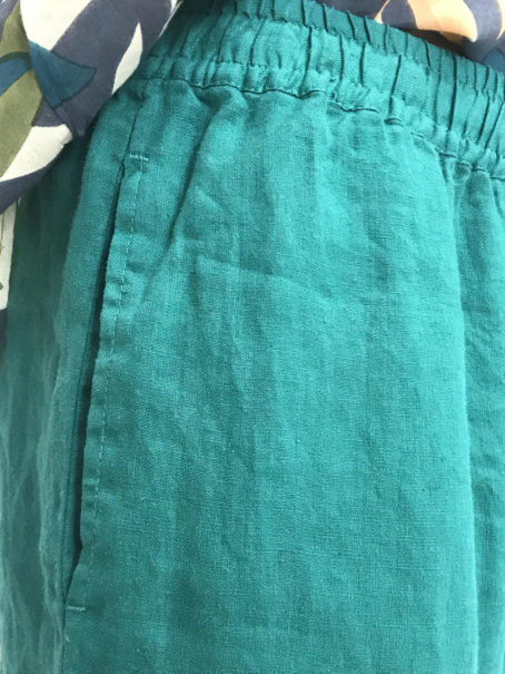 Pantalon liloye vert marin Harris Wilson