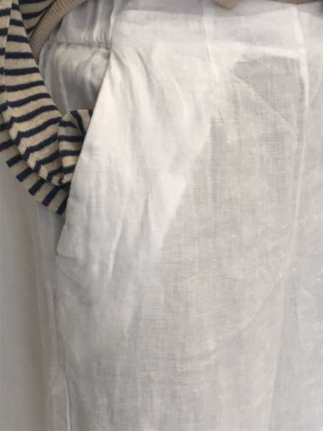 Pantalon Harris Wilson Lilord Blanc zoom