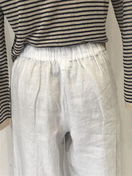 Pantalon Harris Wilson Lilord Blanc zoom1