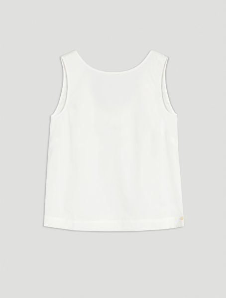 Top status blanc Penny black front