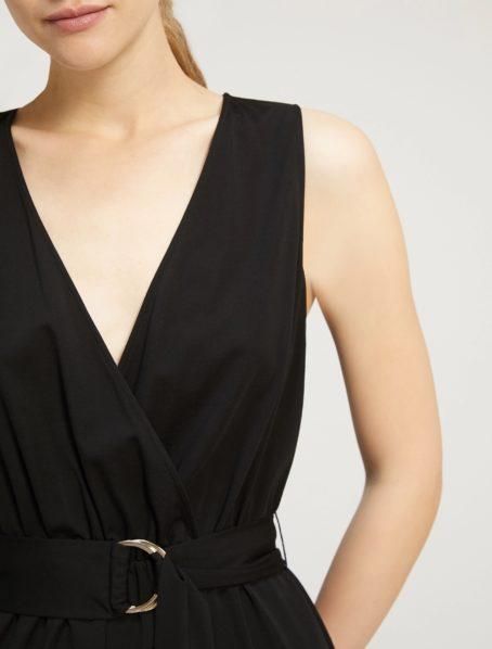 robe noire ammirato penny black zoom