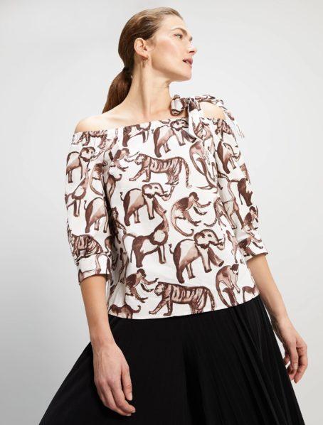 blouse insolito motif penny black