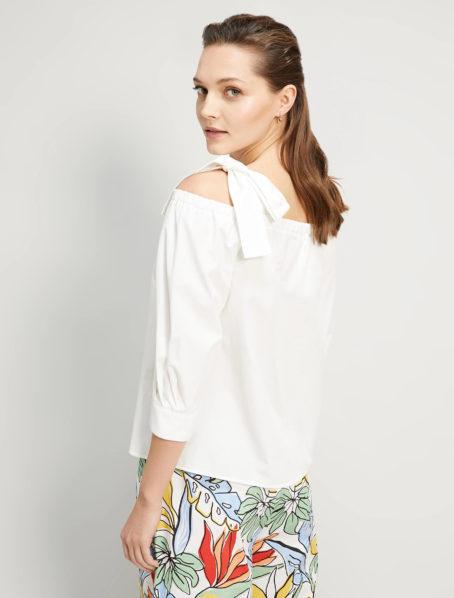 blouse insolito blanc penny black back