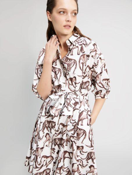 robe opus motif penny black