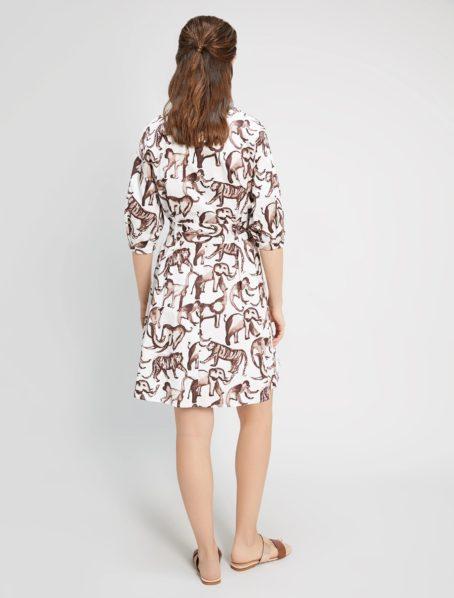 robe opus motif penny black back