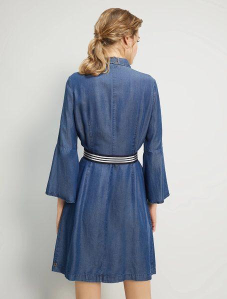 robe evelina penny black back